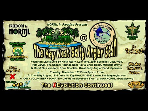 NORML In Paradise Presents The Key West Salty Angler Sesh