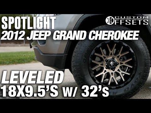 Spotlight - 2012 Jeep Grand Cherokee, Leveled,  18x9.5's and 32's