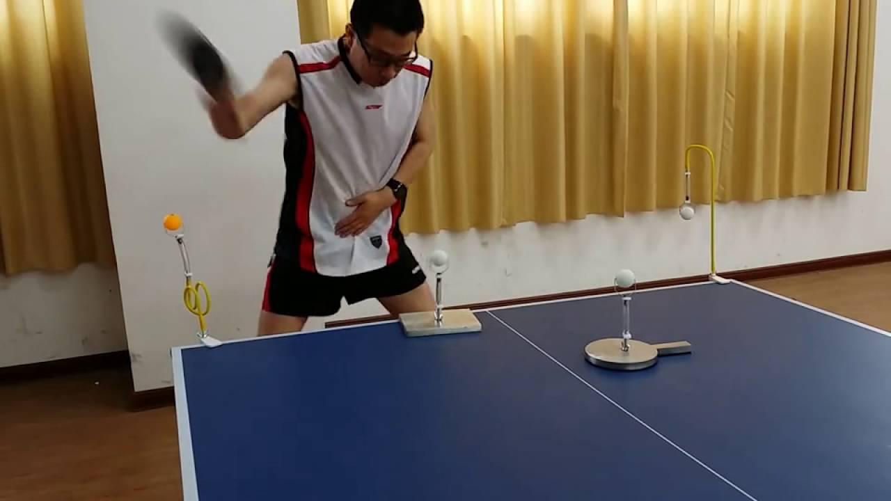Sfu Tables Folder Pingpong Ball Robot Trainers Machine