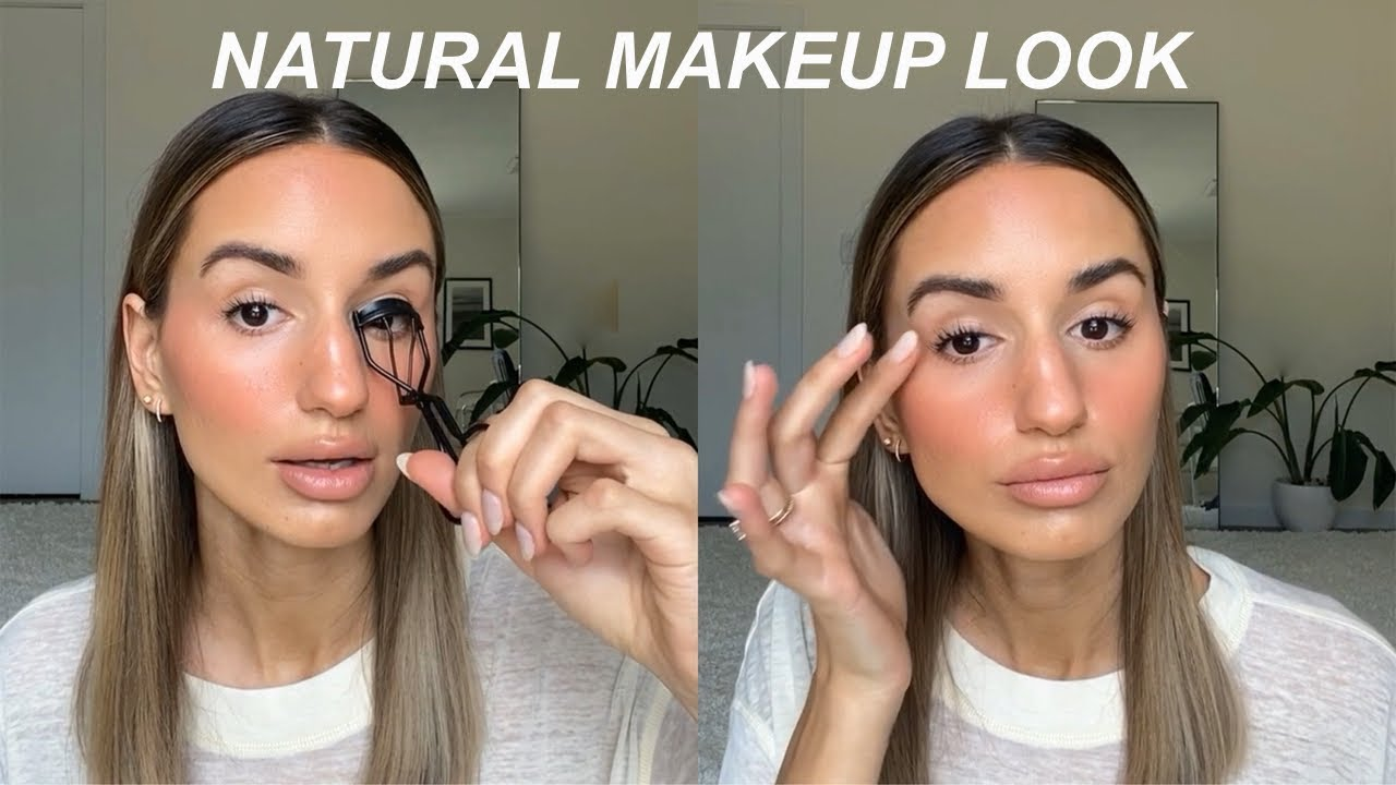 Natural Makeup Look   My New Routine