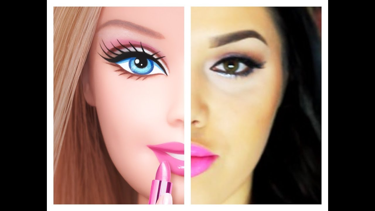 barbie inspired makeup tutorial youtube