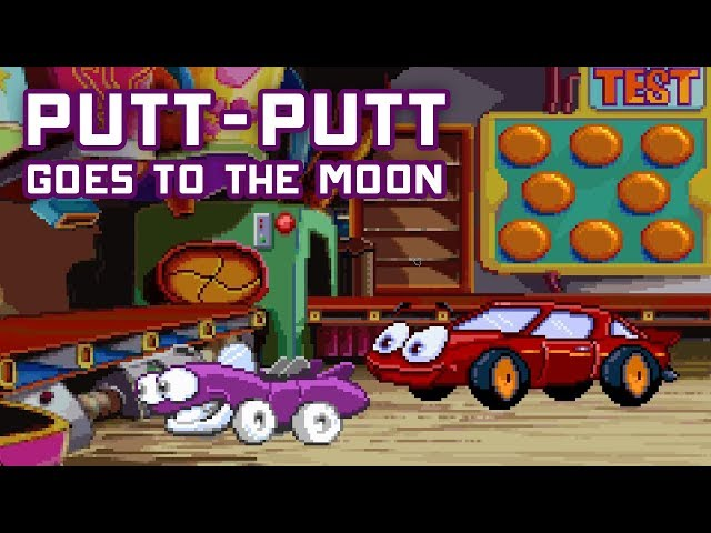 Talking Space Car Simulator 2018 - Putt Putt Goes to the Moon