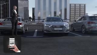 2018 Audi A8 - AI Parking Pilot and Garage Pilot
