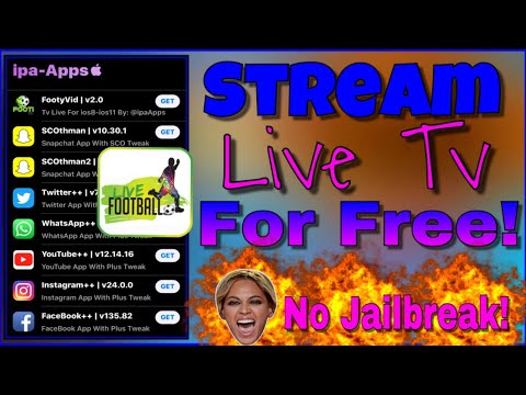 How To Stream Live Tv On iPhone - iPad - iPod / No Jailbreak! *FREE!*