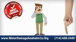 Anaheim Water Damage - (714) 408-2449 Best Choice