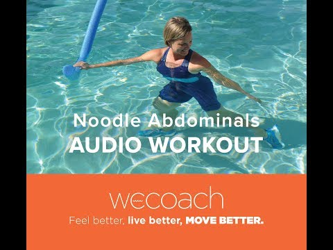 Water Aerobics & Exercise: Noodle Abdominals Preview