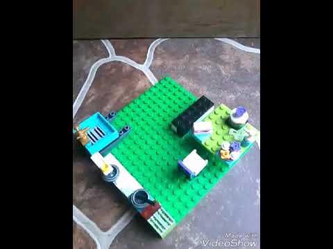 Cara Membuat Dapur Minimalis Lego