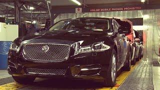 Jaguar XJ Production