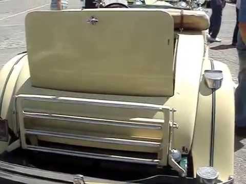 1929 RUXTON ROADSTER STRAIGHT 8  -- A FAILED CAR MAKE