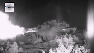US Military M1A1 Abrams Breaching Operation