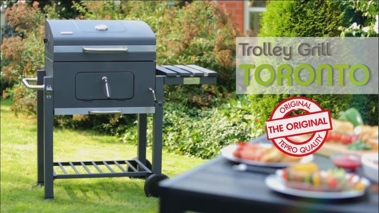 tepro trolley grill toronto youtube. Black Bedroom Furniture Sets. Home Design Ideas