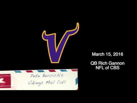 Vikings Mail Call   Rich Gannon  3-15-16