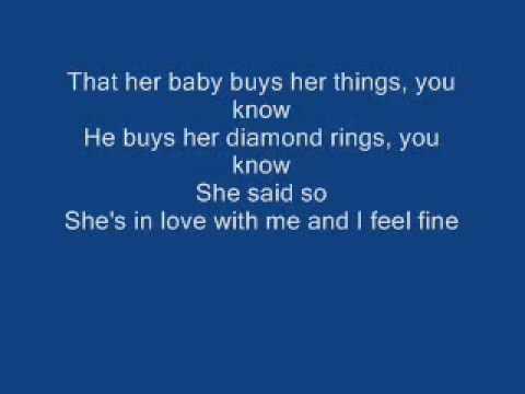 I feel good fine lyrics