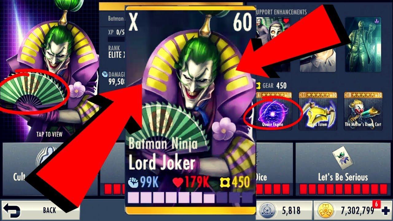 Batman Ninja Lord Joker Injustice Gods Among Us 2 21 Ios Android Youtube
