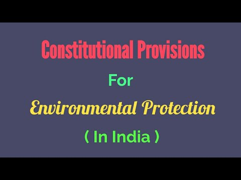 Gatt Provisions Related Environmental Protection