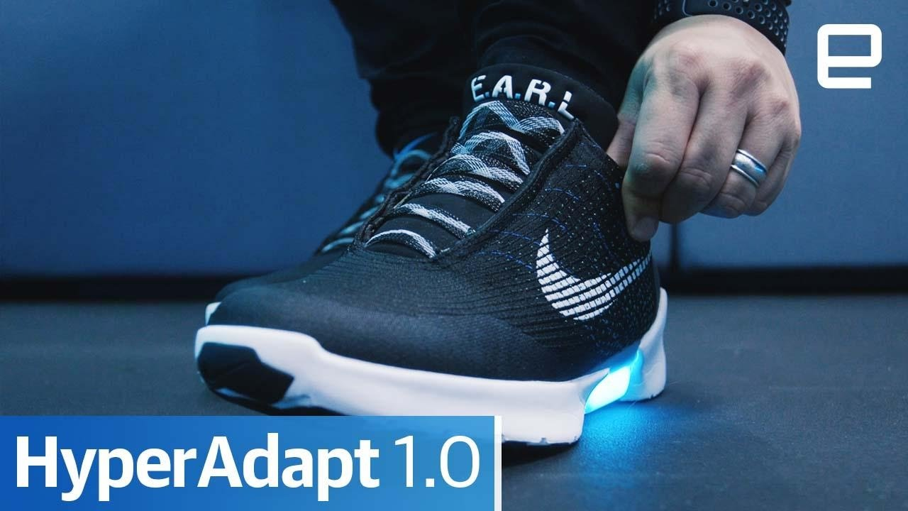 e48ce7eb4f58 Nike HyperAdapt 1.0  Hands-On - YouTube