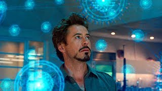 Tony Stark Discovers a New Element Scene - Iron-Man 2 (2010) Movie CLIP HD