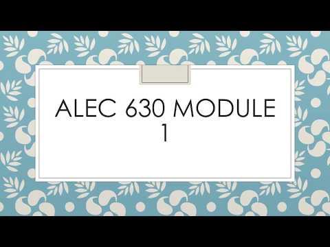 ALEC 630 MOD1 CRAIG 2