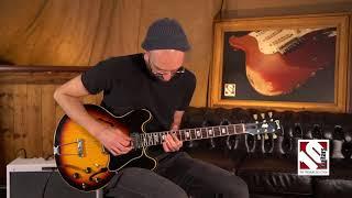 1967 Gibson ES 335 Sunburst   Guitar Demo