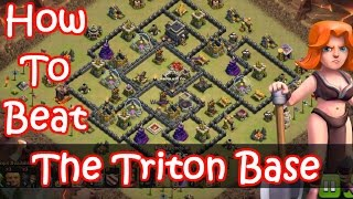 Clash of Clans | How To 3 Star The Triton Th9 War Base | GoVaHo + LavaLoon