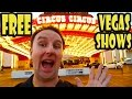 Las Vegas Travel: Top 7 Best Free Shows