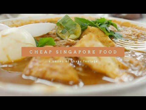 [Mencoba Terkenal] Cheap Food In Singapore // Makanan Murah Di Singapura