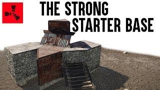 Rust Base Building - Strong Rust Starter Base (Not A Rust Bunker Base) Rust Base Design