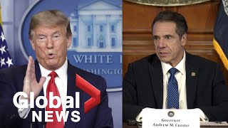 Coronavirus outbreak: New York governor says it's 'not accurate' Trump has 'total authority' | FULL New York Gov. Andrew Cuomo on Tuesday addressed President Donald Trump's comment made Monday that he had .total authority. over when states re-open ...