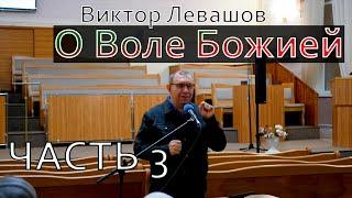 О Воле Божией Виктор Левашов Цикл бесед часть 3