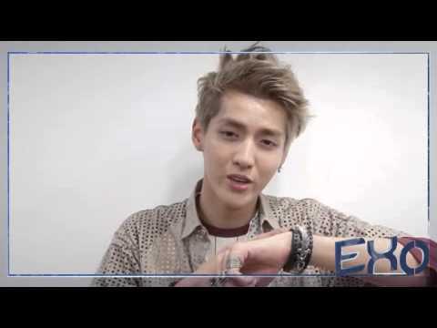 dodolpop EXO Kris Video alarm Morning call (Korean Ver)