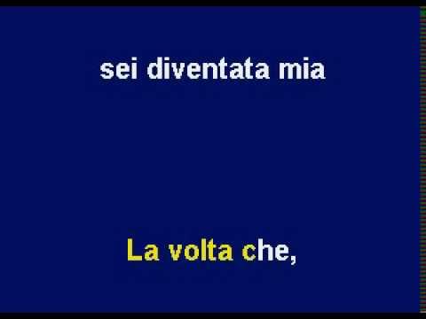 La Prima Volta, Karaoke as sung by Paul Potts by Allen Clewell