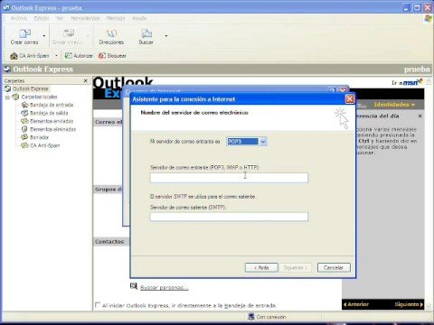 Como configurar Outlook Express