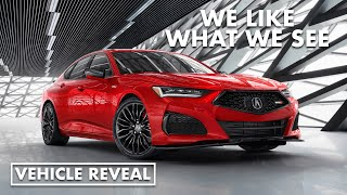 2021 Acura TLX unveiling