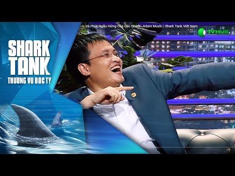 Màn biểu diễn của Mlee & phút ngẫu hứng của các Shark| Adam Muzic | Thương Vụ Bạc Tỷ Shark Tank VN