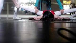 Alongamento para bailarinas
