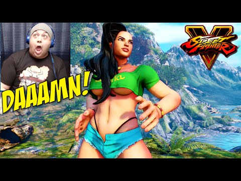 GOOD LORD LAURA!! [STREET FIGHTER V] [STORY MODE]