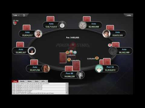 Sunday Million: 11 June 2017 - FINAL TABLE. HD PokerStars