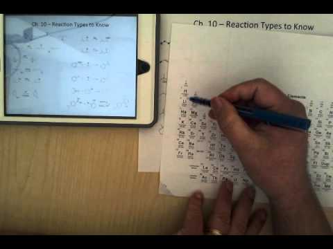 CHEM3100 - Organic Chemistry 1 - Exam 4 Review