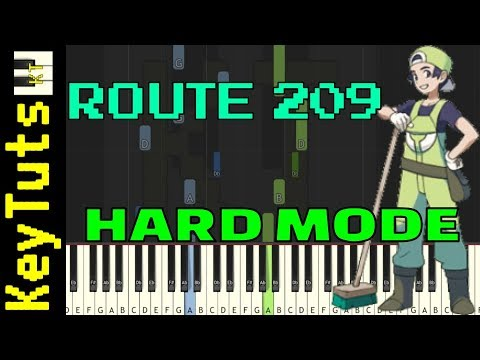 Learn to Play Route 209 from Pokemon Diamond and Pearl - Hard Mode