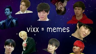 VIXX being memes for 7 years