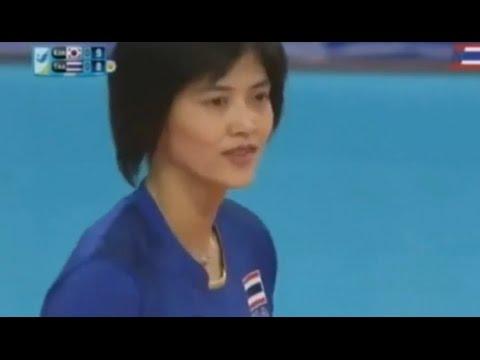 ปลื้มจิต สุดยอดบอลเร็วไทยแลนด์ [asian games2014 วอลเลย์บอล ไทย-เกาหลีใต้]