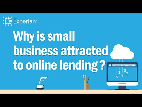 Why do you think small businesses are tapping online lending for capital?