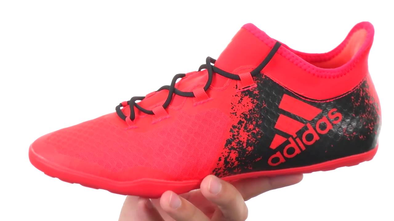 Adidas X 16.2 Court Mens Solar Red/Black C923963SS Shoes