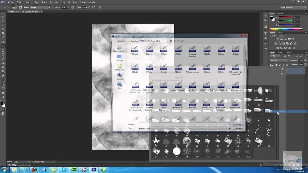 descargar pinceles para photoshop cs6 gratis para mac
