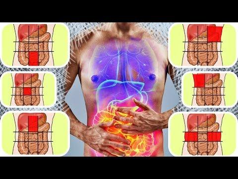 Карта боли в животе и как по ней распознать болезнь