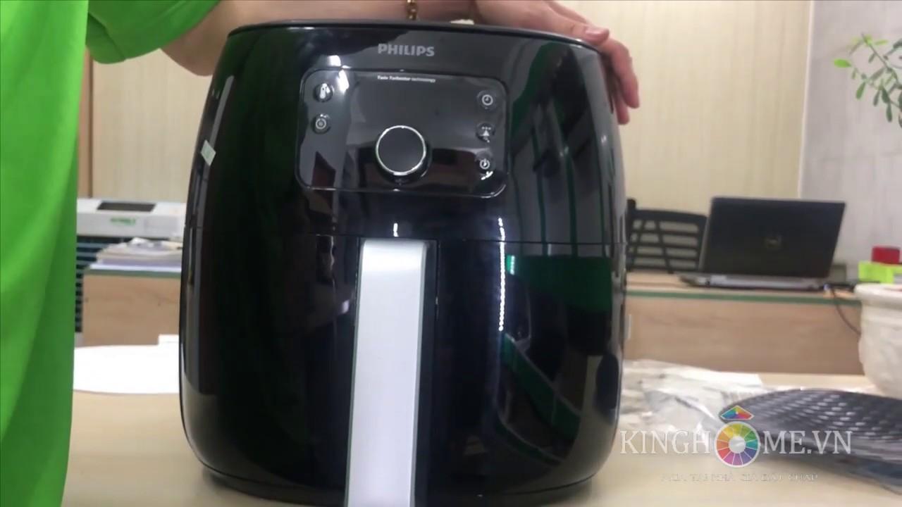 [KingHome.vn] Giới thiệu và Hướng dẩn sử dụng Nồi chiên không dầu Philips HD9654