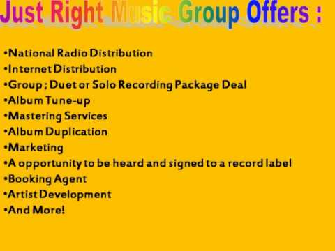 just right music group, division of supreme connection records inc.