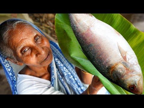 SARSHE-ILISH !!! Unique & Traditional HILSHA Recipe Prepared By Grandmother