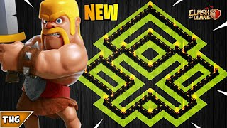 NEW TOWN HALL 6 FARMING/WAR BASE 2019! TH6 HYBRID BASE UPDATED!! - CLASH OF CLANS(COC)