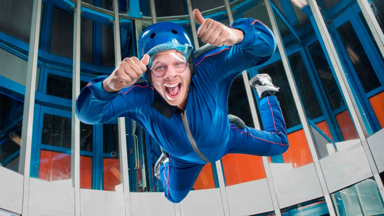 Indoor Skydive Roosendaal promo - YouTube